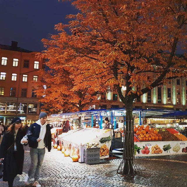 Citytrip Stockholm market