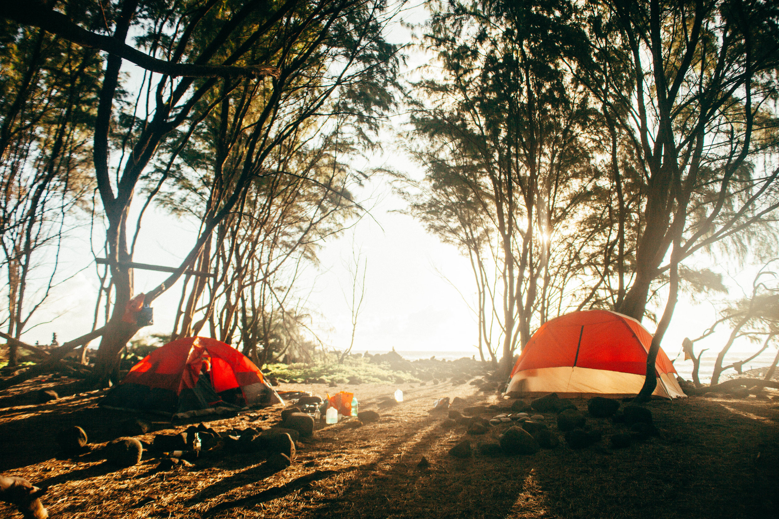 Camping Pololu Valley