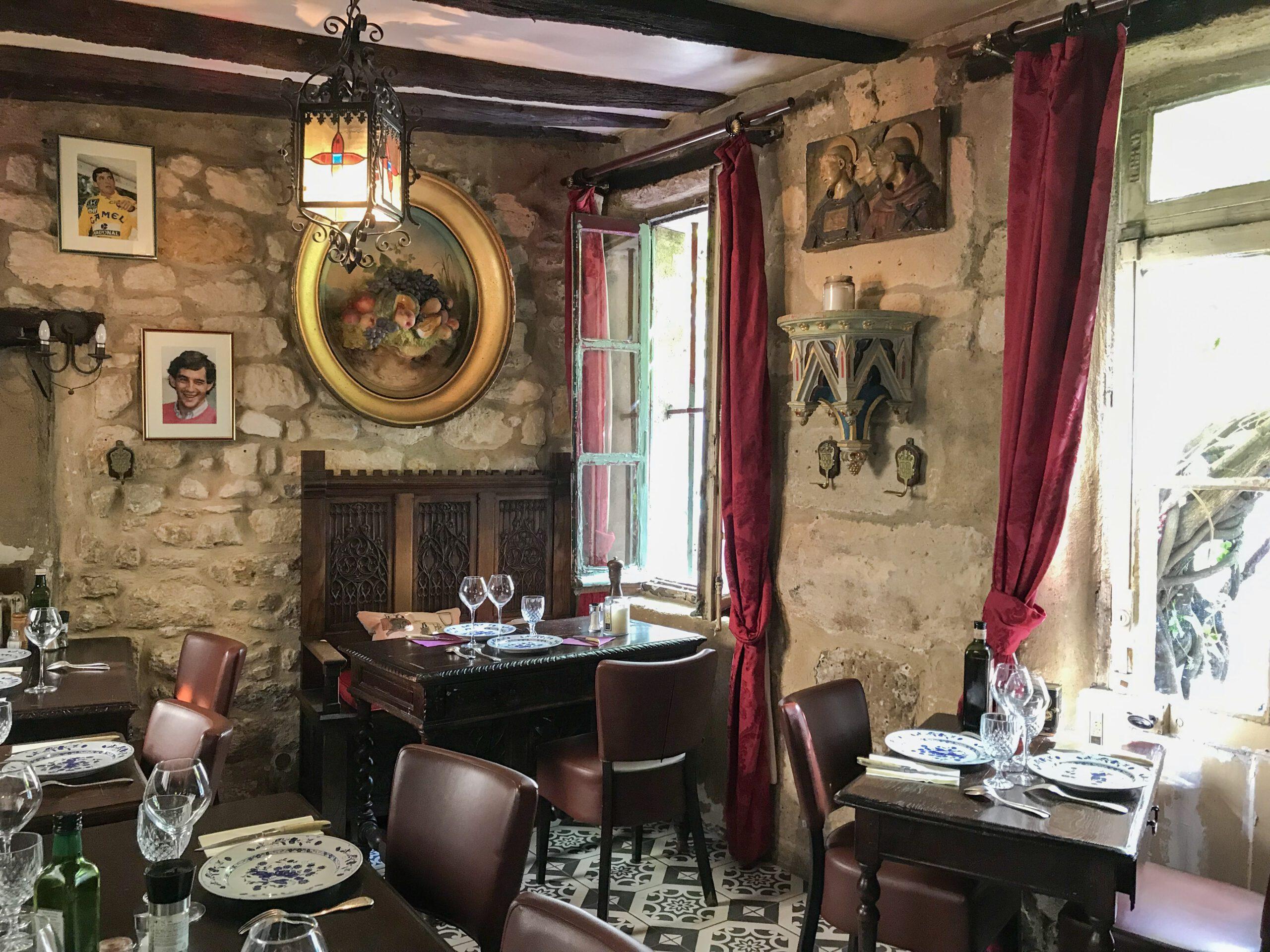 parijs au vieux paris inrichting restaurant 18e eeuw