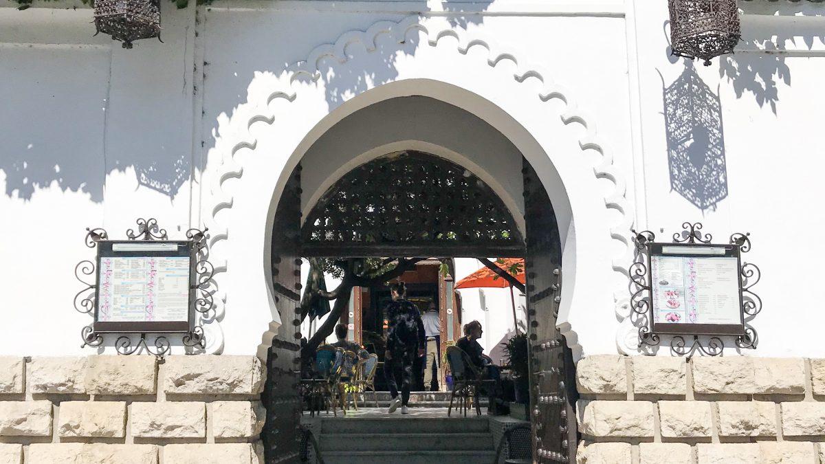 parijs le grand mosquée paris entree restaurant