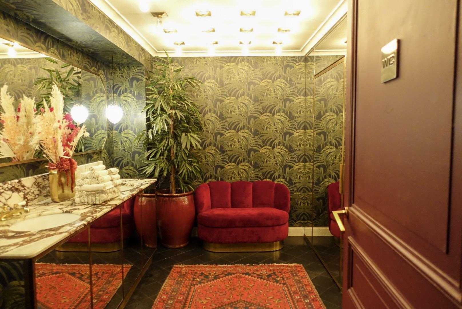 Parijs hotel particulier montmartre interieur toilet