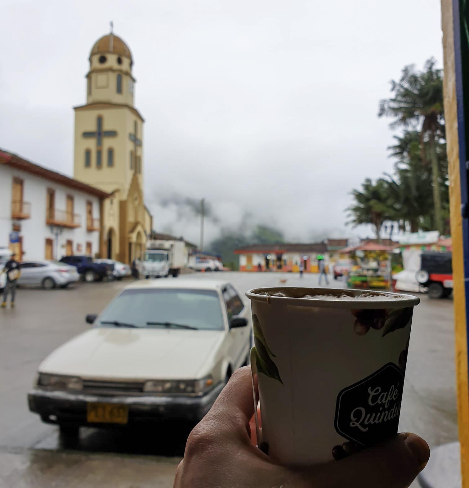 Colombia Salento Cafe Quindino