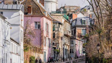 Paris romantic streets