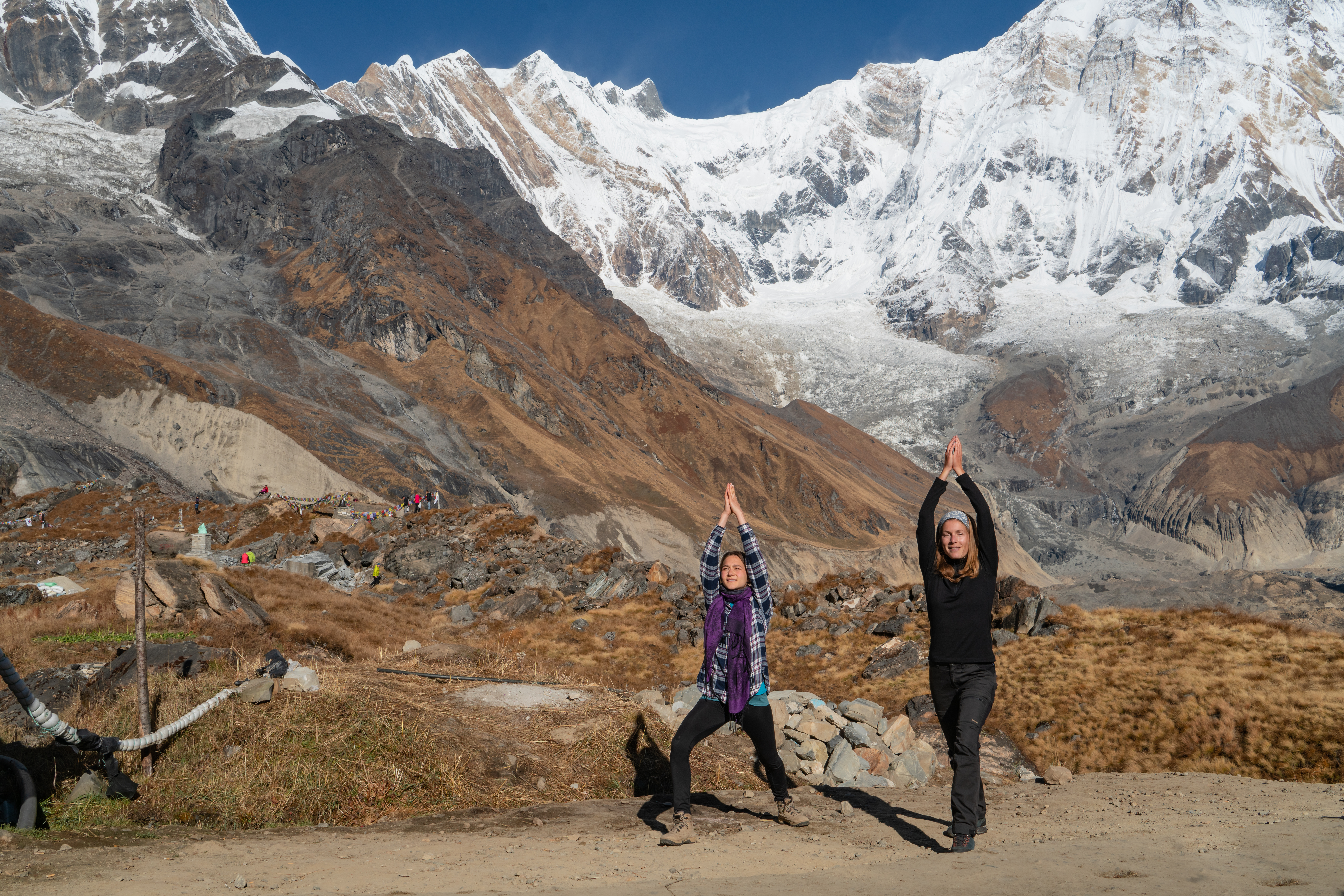 yoga trekking Nepal