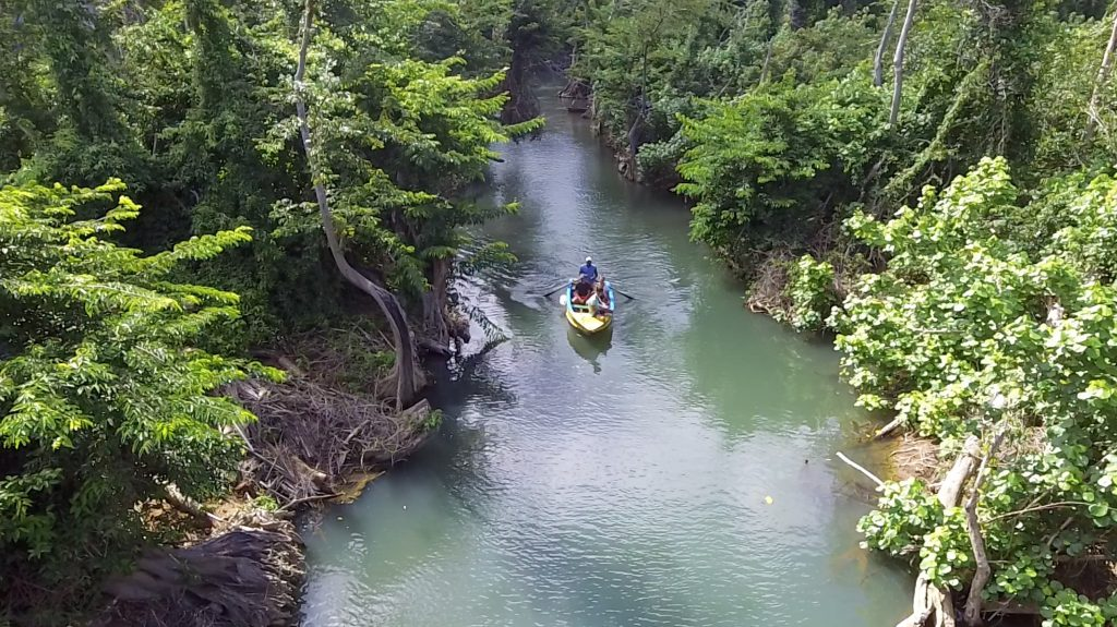small-boat-indian-river-dominica