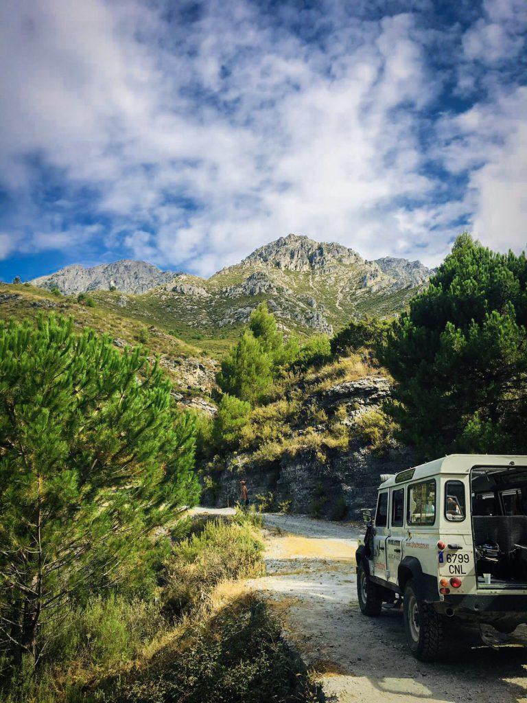 nationaal park spanje jeepsafari