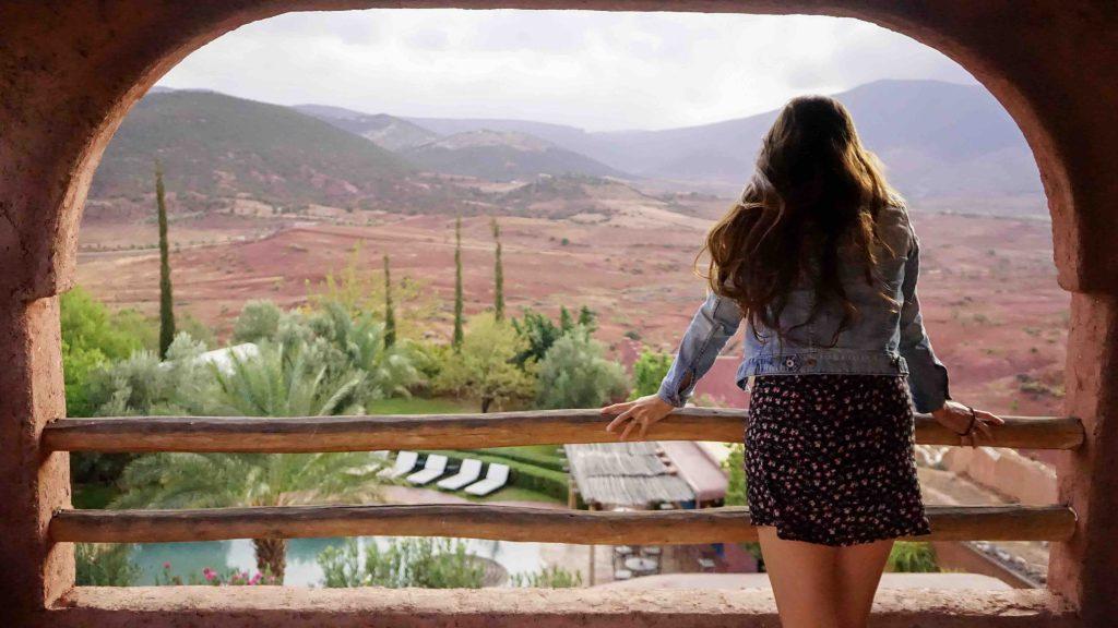 uitzicht ouzoud kasba roadtrip Noord-Marokko