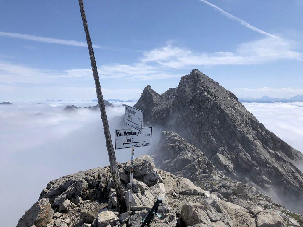 adlerweg wurttembergerhaus wolken bergen