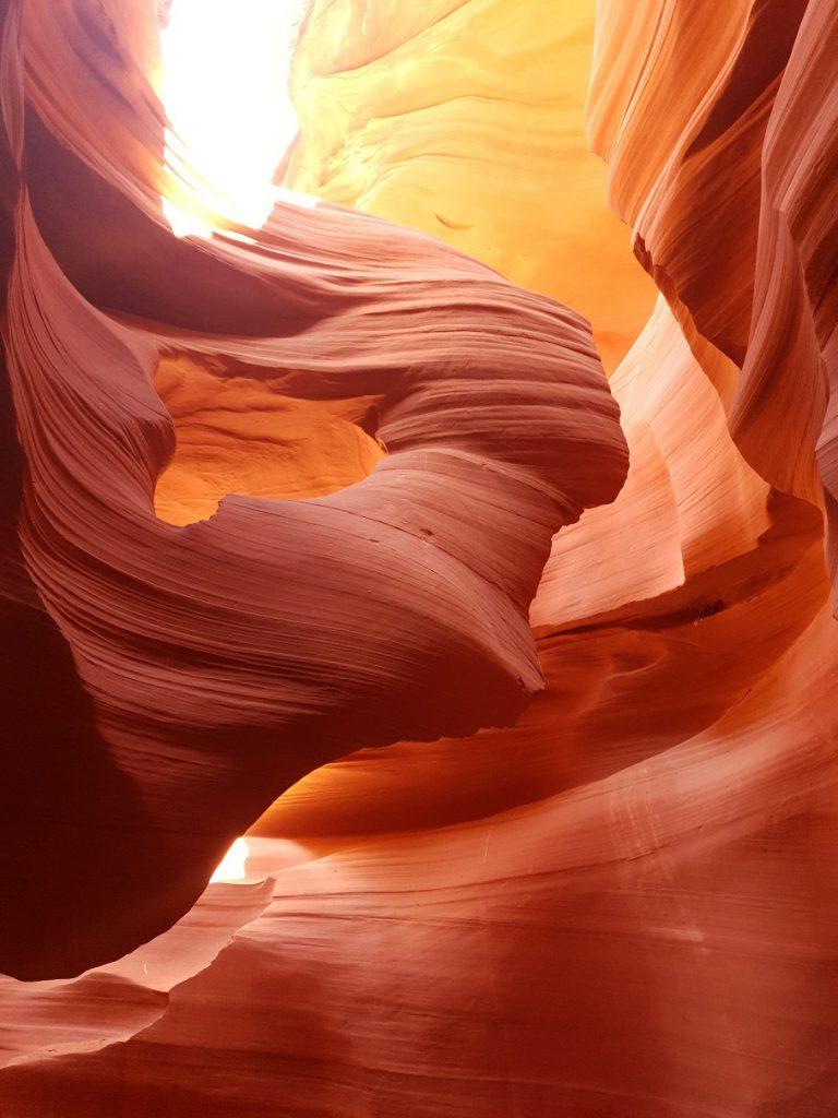 foto antelope canyon west-amerika