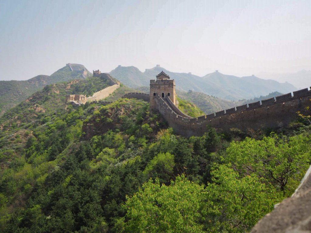 chinese muur uitzicht china