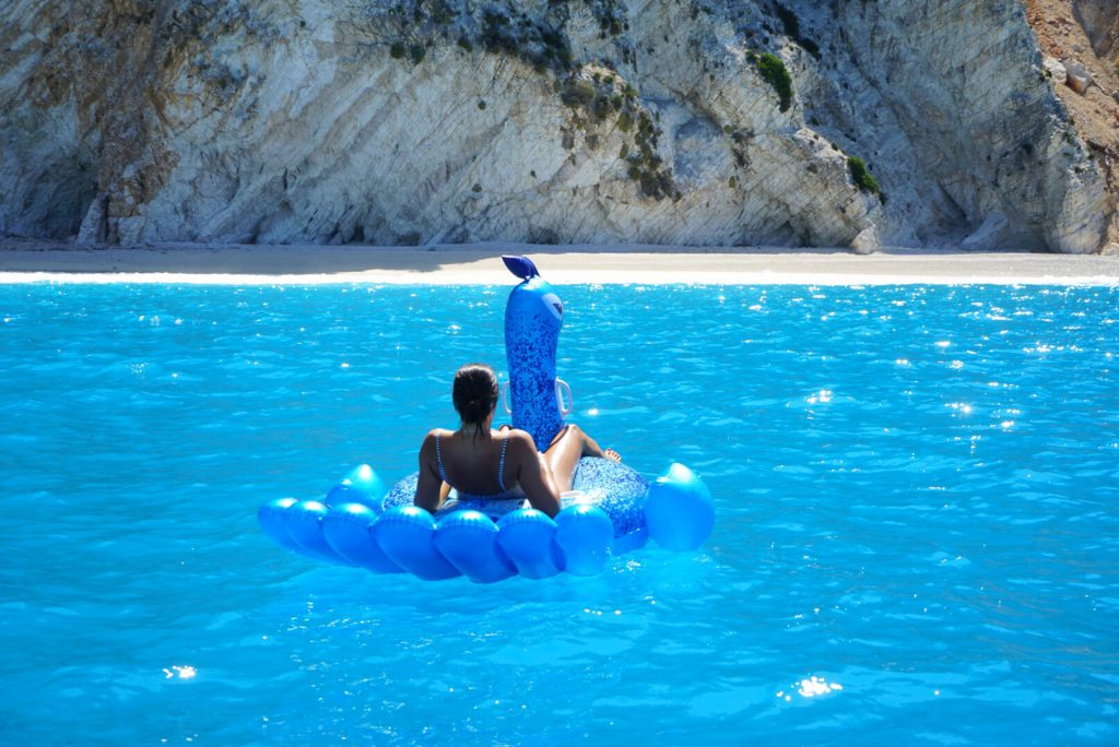 dobberen griekenland blauw water