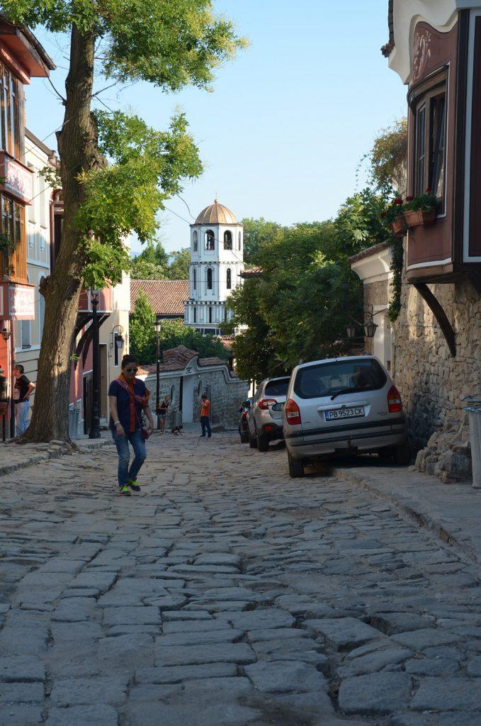 Straatjes stedentrip Plovdiv