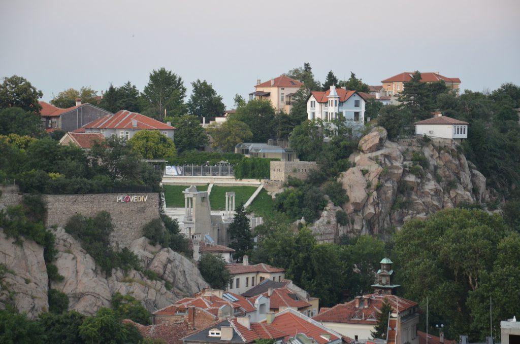 Stedentrip Plovdiv heuvels stad