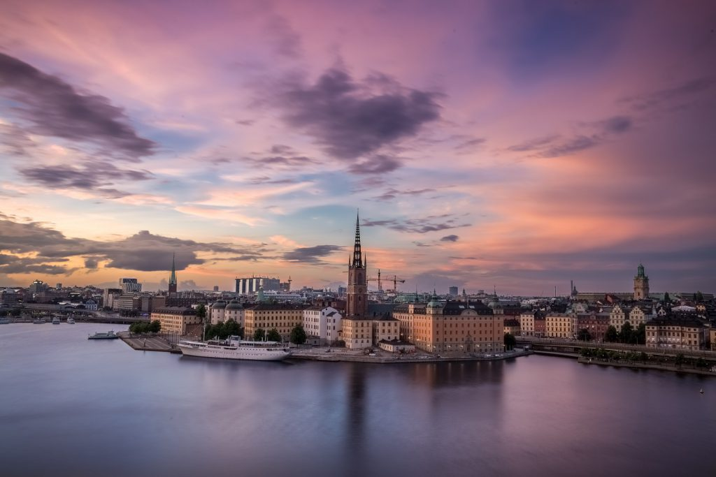 stockholm klm bestemming