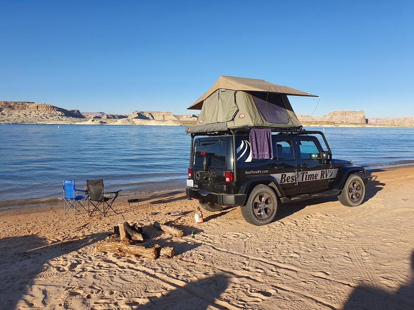 rondreizen west-amerika campings