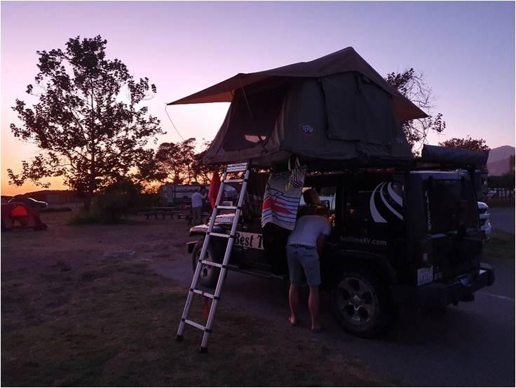 campings west-amerika reizen