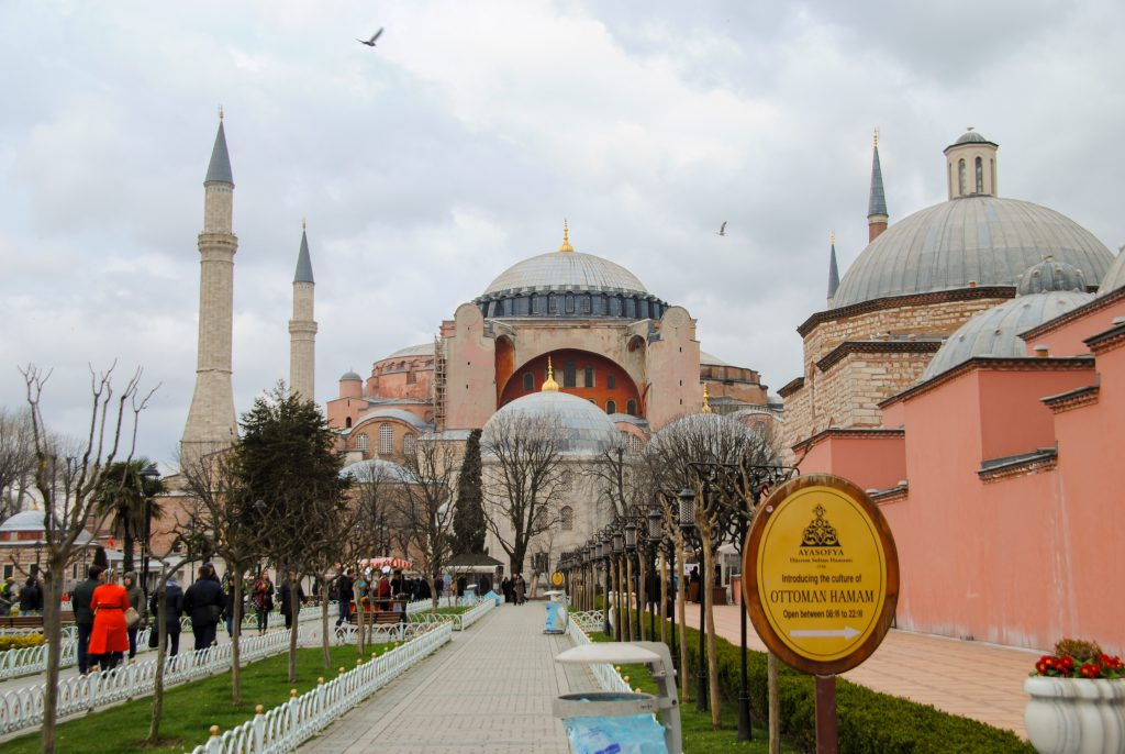 Hagia Sophia Istanbul bezienswaardigheden