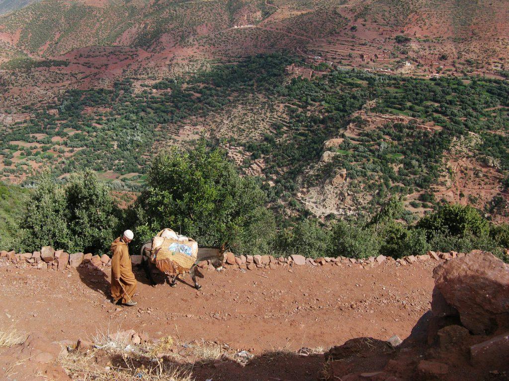 Hoge Atlas Marokko Trekking bestemmingen