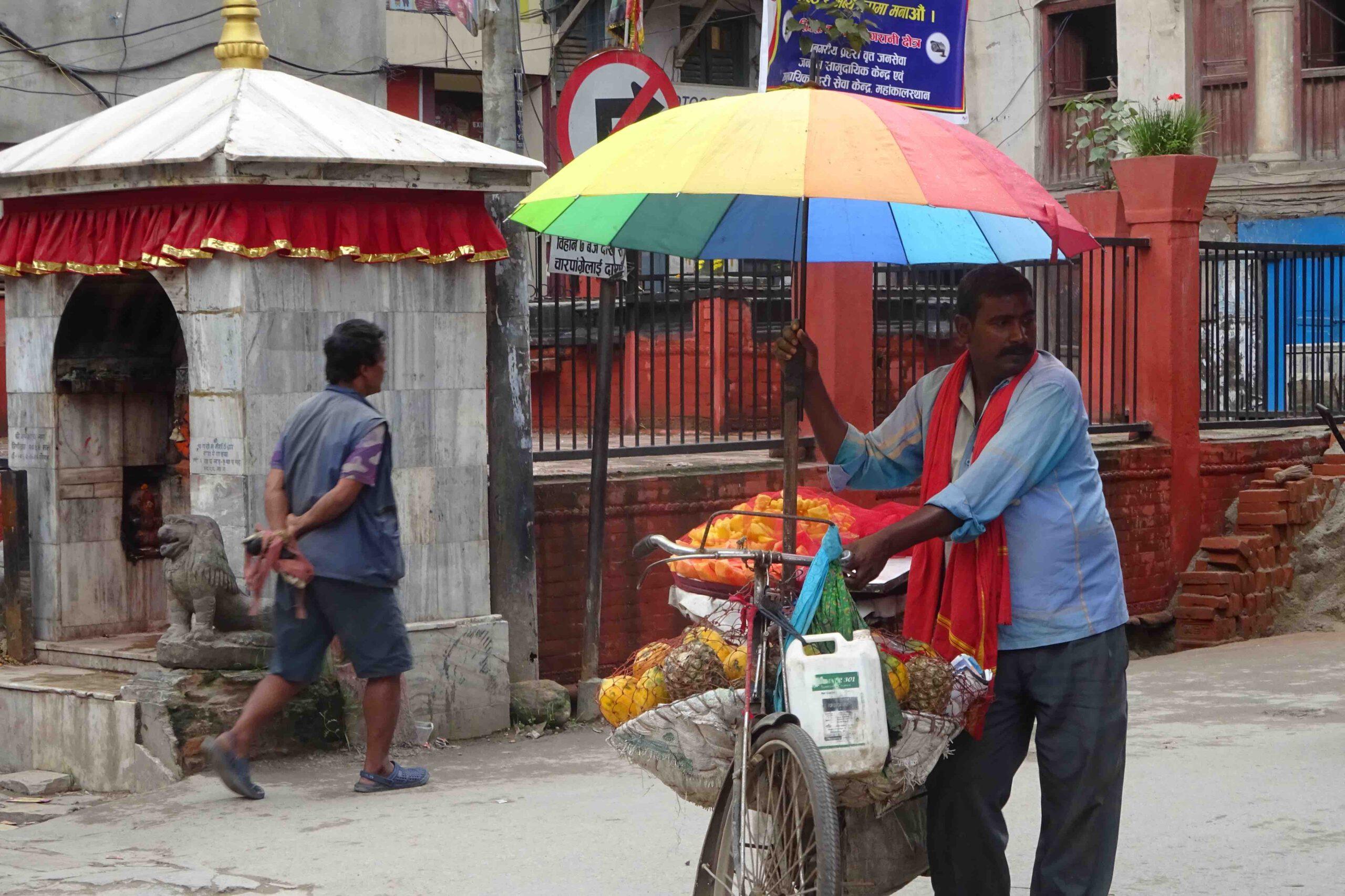 Eten in Kathmandu Nepal