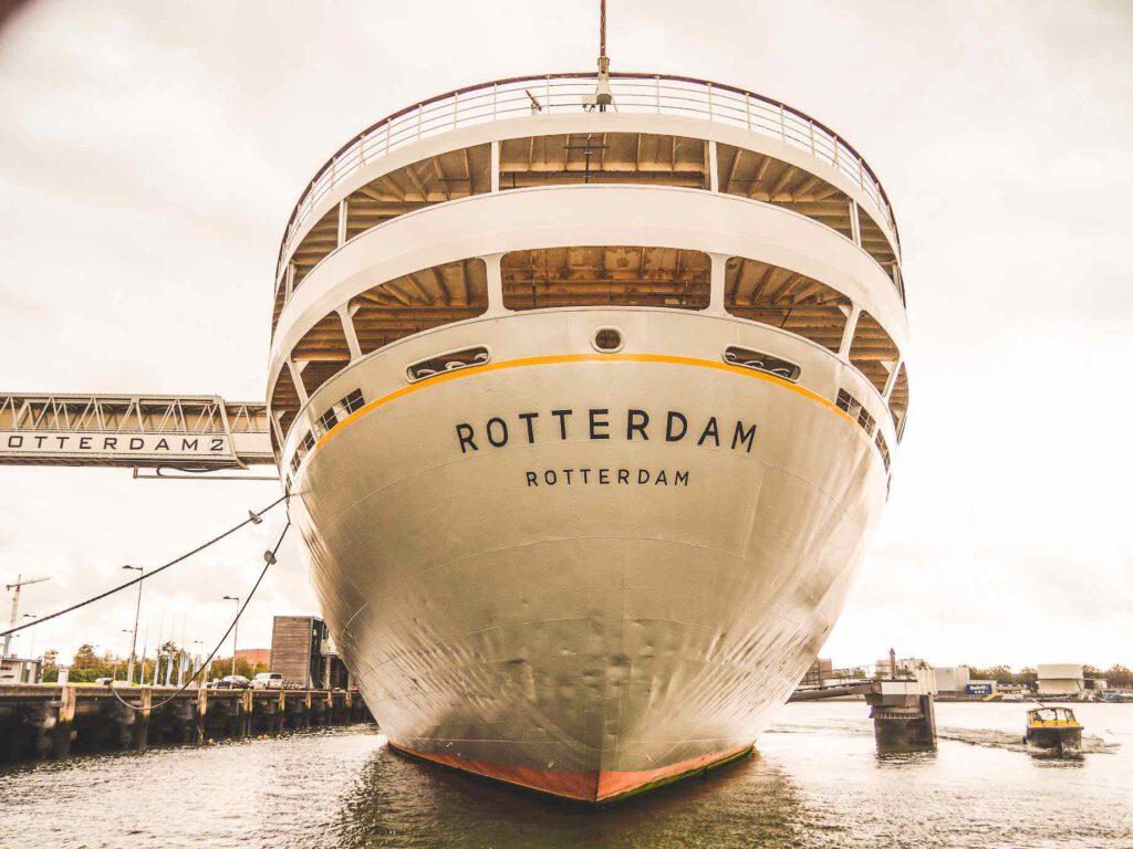 SS Rotterdam, het schip