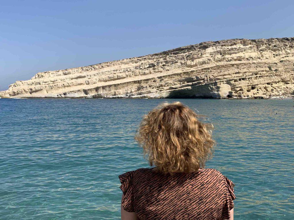 Zuiden van Kreta stranden